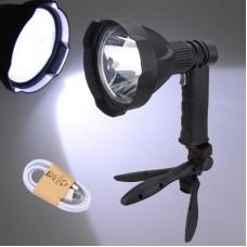 Фонарь прожектор светодиодный аккумуляторный MULTIFUNCTIONAL PISTOL LIGHT 536 XML L2