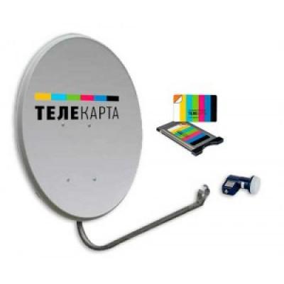 Комплект ТЕЛЕКАРТА с модулем доступа CI+
