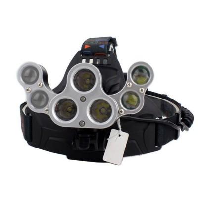 Фонарь налобный 7-LED Headlight