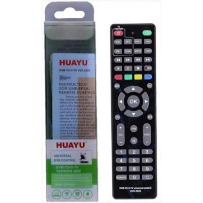 Пульт универсальный HUAYU DVB-T2+3-TV версии 2020