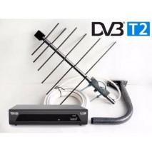 Как настроить приемник и антенну для приема DVB-T2 сигнала.